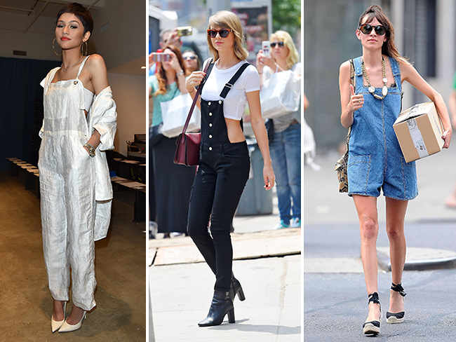 11 ways to wear overalls without feeling like Super Mario