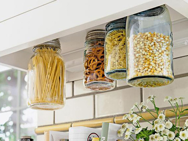 Kitchen cupboards looking a bit crap? How to organise your food like a champ