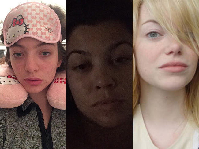 Celebs looking fresh and fab without make-up
