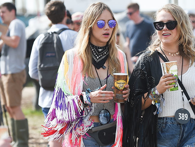All the best looks at Glastonbury 2015