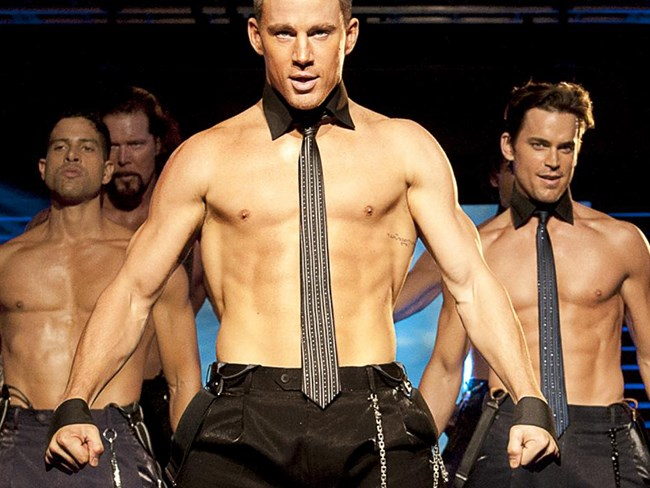Overheard at the Magic Mike premiere