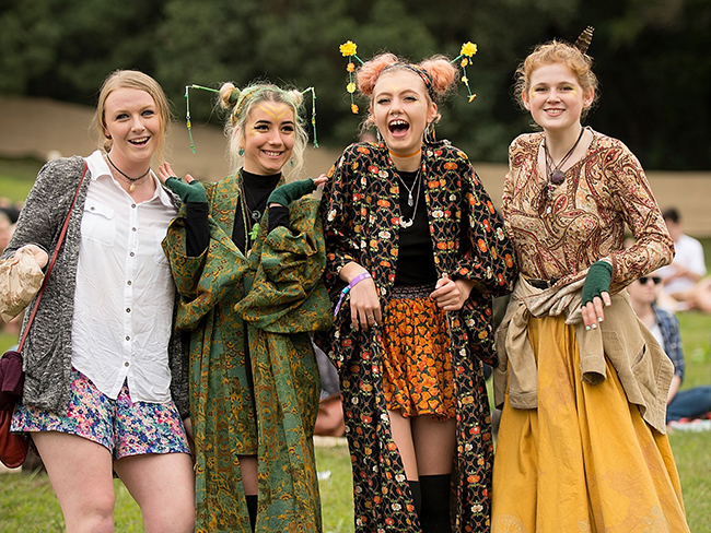 Style and celebs at Splendour in the Grass 2015