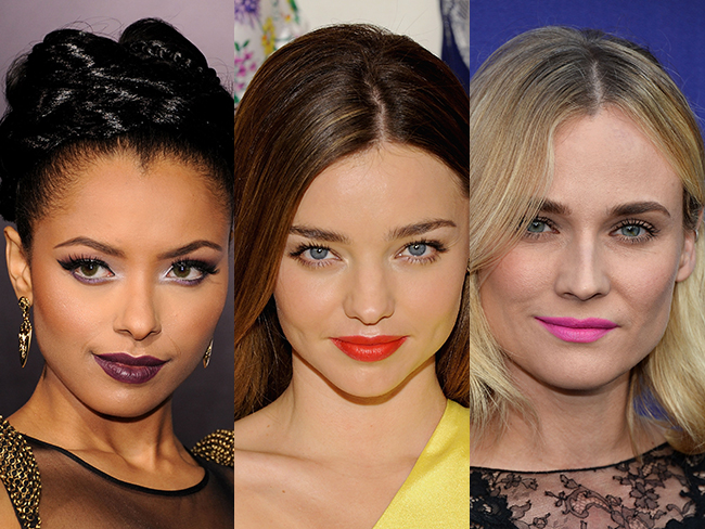 14 celebs OWNING the bold lip