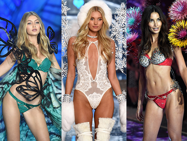 Underwear from the VS show you'll actually want to wear