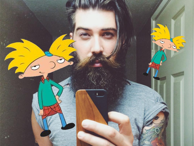 So, the guy who voiced 'Hey Arnold!' is insanely hot
