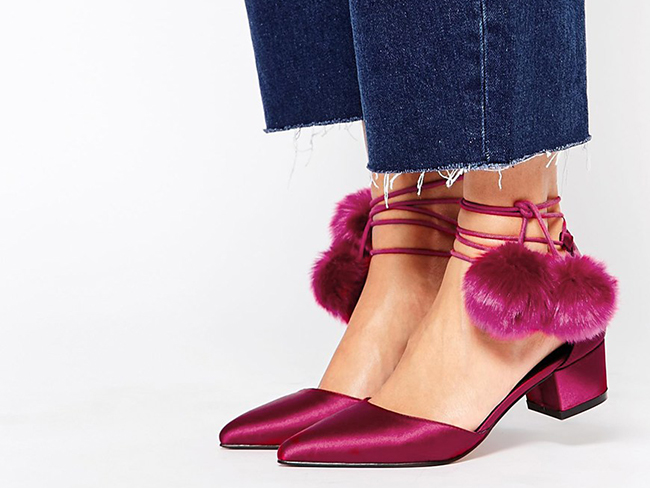Kitten heels are back and they aren't ugly anymore!