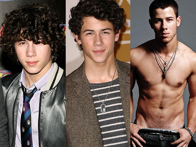 Nick Jonas grows up
