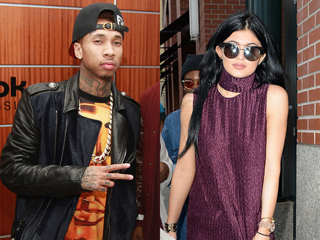 Kylie and Tyga sprung on French vacay