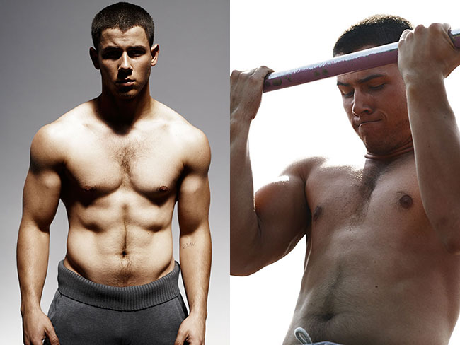 Nick Jonas on being fit
