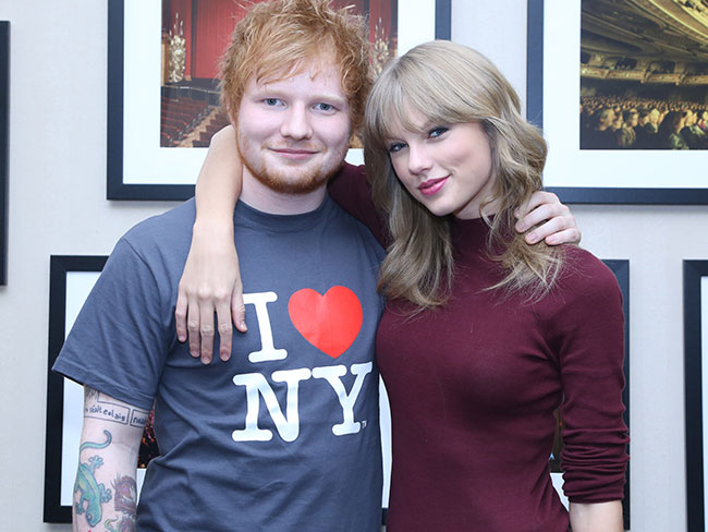 Ed Sheeran plays matchmaker for Taylor Swift