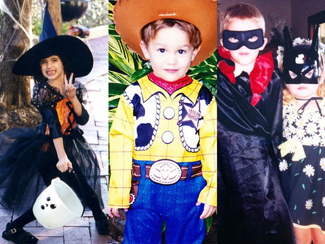 Celebs share (adorable) childhood Halloween costumes