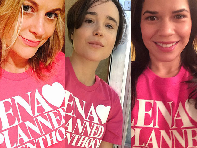 Celebs supporting Lena Dunham's Planned Parenthood campaign