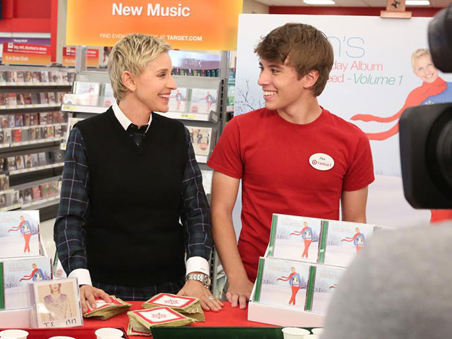 Meet Alex from Target…