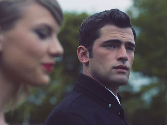 Sean O'Pry is the (hot) guy from Taylor Swift's Blank Space video
