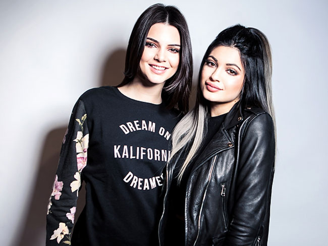 Kylie and Kendall's sister shoot