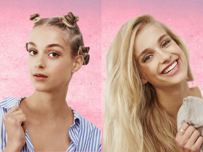 Night-to-day hairstyles