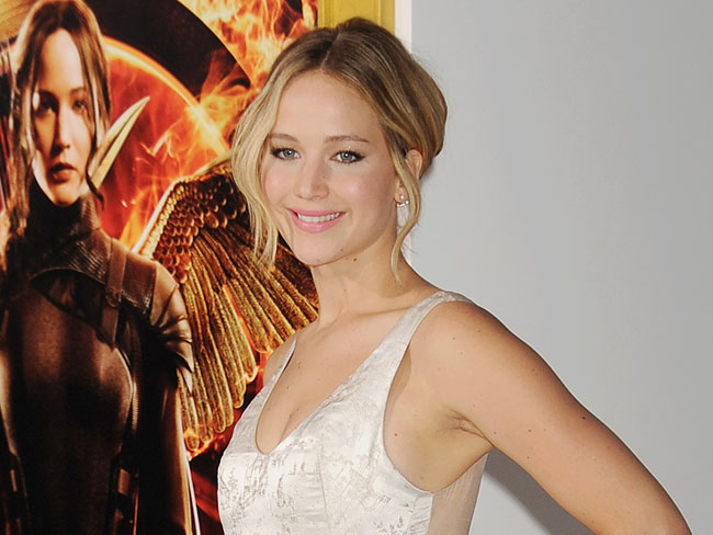J.Law was afraid to play Katniss?!