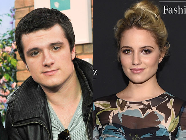 Is Josh Hutcherson dating Dianna Agron?
