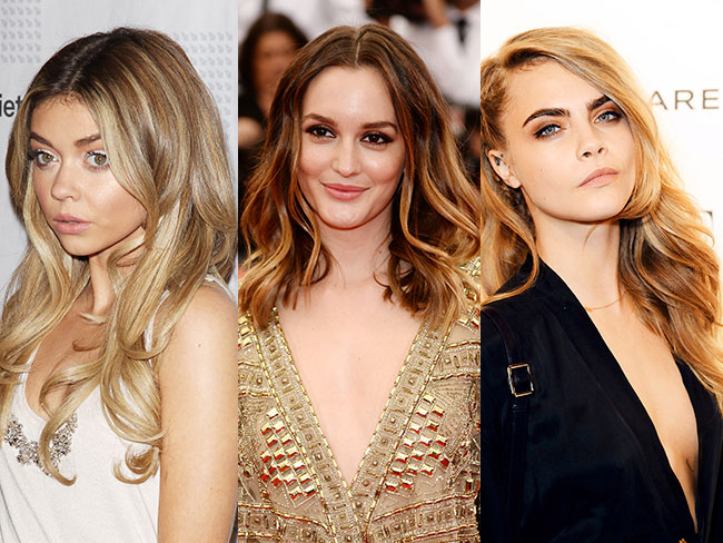 New hair trend alert: tortoiseshell hair