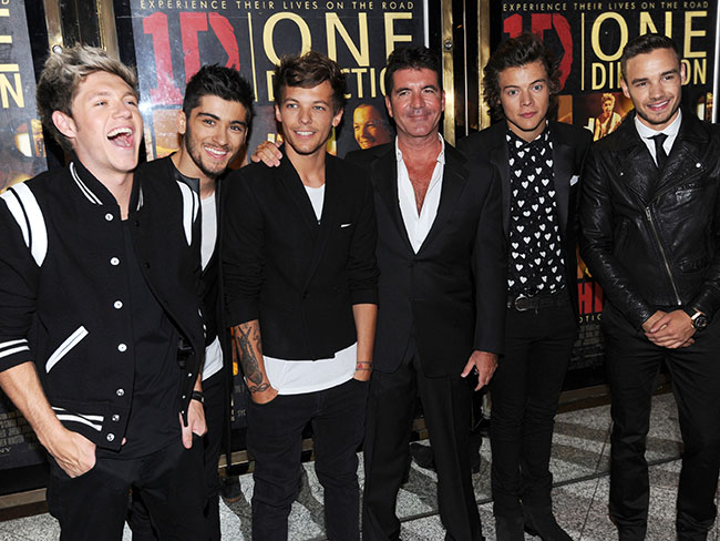 Simon Cowell adresses 1D split rumours(!!!)