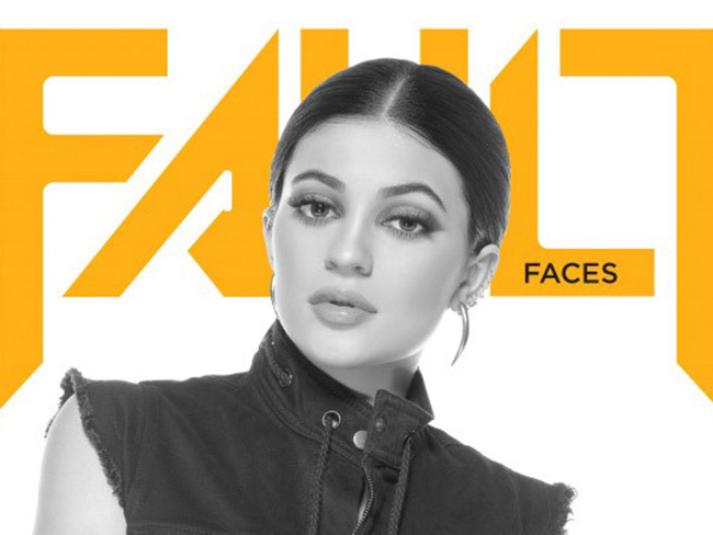 Kylie Jenner gets frank about fame with Fault magazine
