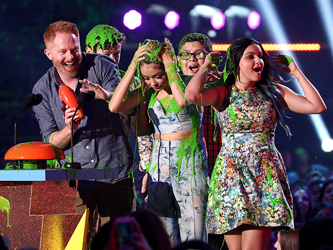 Winners and grinners from the 2015 Kids' Choice Awards