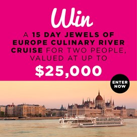 Win 15 Day Jewels of Europe Culinary River Cruise with Scenic