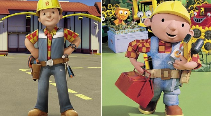 Bob the Builder's makeover