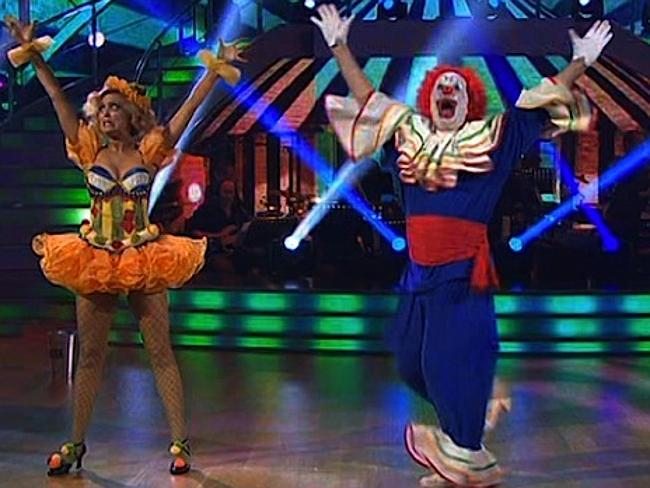 Scary Clown on Dancing with the Stars