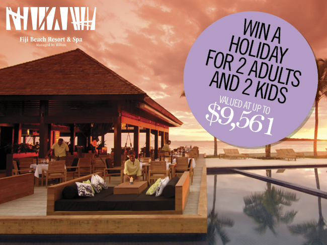 Win a Fiji holiday
