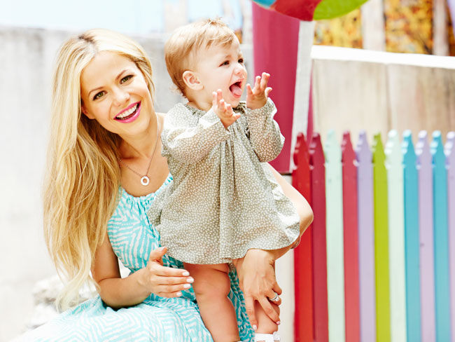 Tammin Sursok talks motherhood