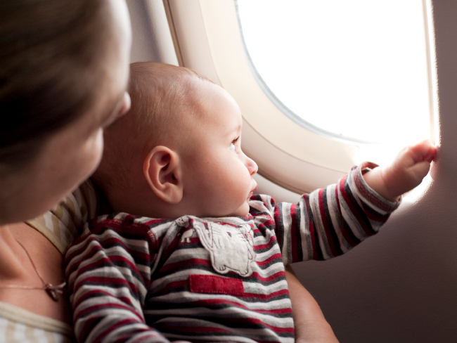 What to know when flying with a baby