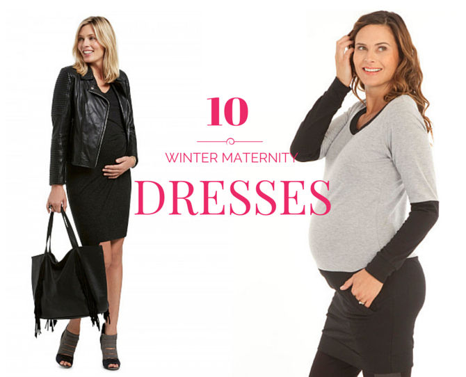 Autumn Winter Maternity Dresses