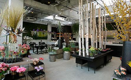 北欧风格花店装修风格