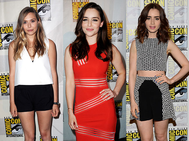 Comic-con 2013: red carpet watch