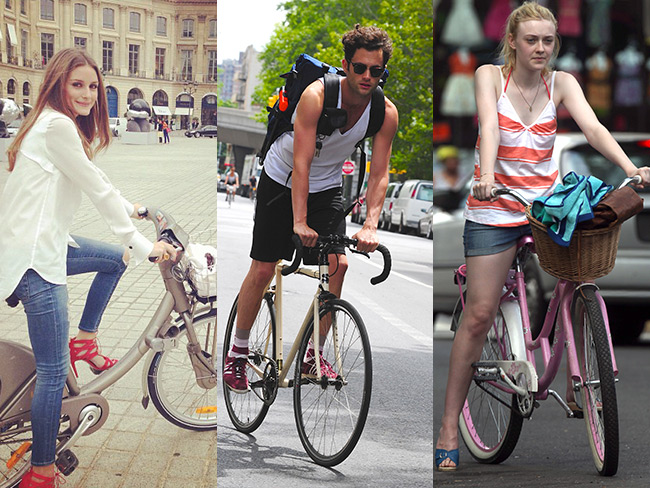 Cycling celebs