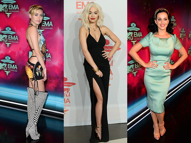 EMAs red carpet wins