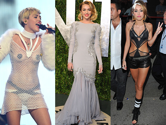 Miley's most memorable outfits…