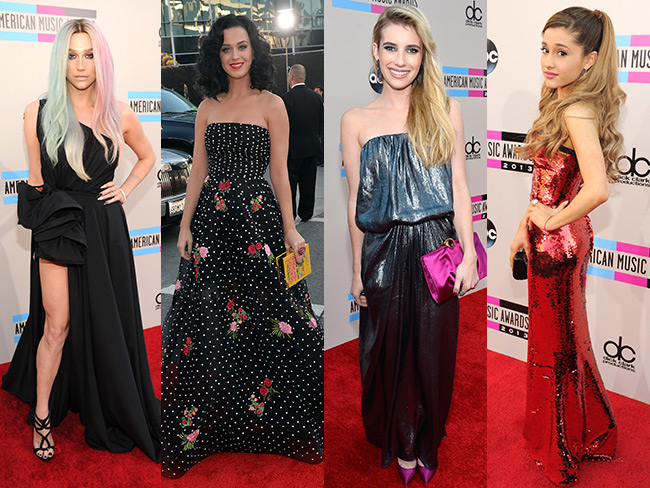 American Music Awards red carpet
