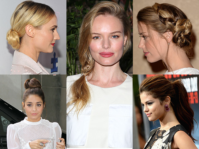 Five hot hairdos in five minutes
