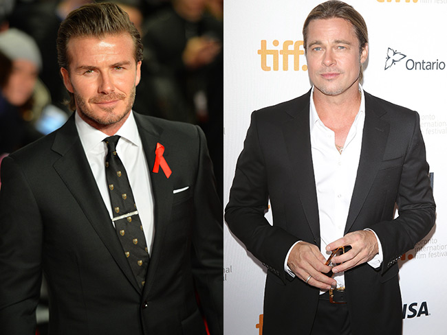 Brad Pitt to play David Beckham?!