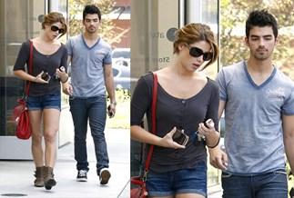 Loved up couple: Ashley Greene and Joe Jonas