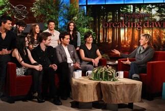 Twilight cast on The Ellen DeGeneres show