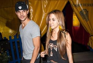 Taylor Lautner and Sara Hicks
