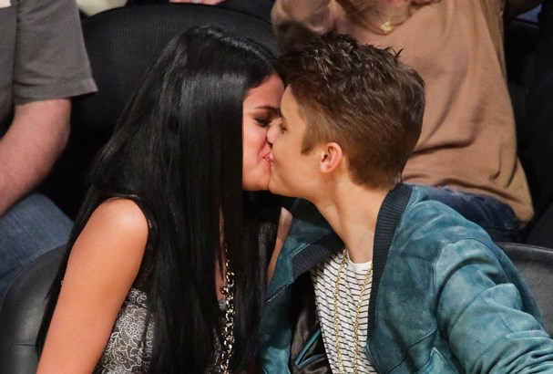 Justin and Selena in happier times.