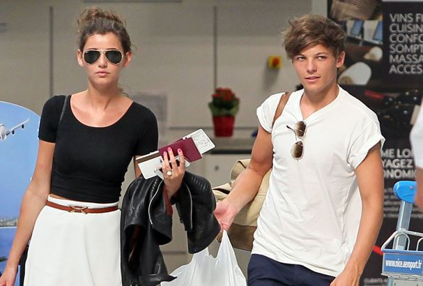 Louis and Eleanor arrive at Nice Cote d'Azur Airport.