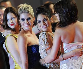 Selena Gomez, Vanessa Hudgens and Ashley Benson (getty)