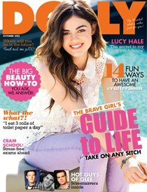 October DOLLY magazine cover