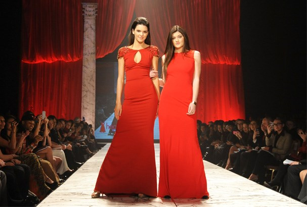 This isn't the first time Kendall, 17, and Kylie, 15, have walked at New York Fashion Week, the sisters also strutted their stuff at the Sherri Hill show last year.