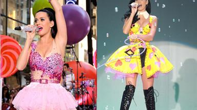 Weird & wonderful wardrobe of Katy Perry